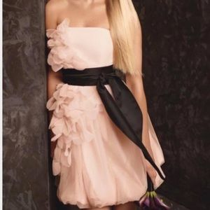 Vera Wang Pink Tulle dress